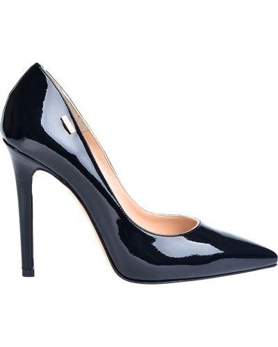 Туфли на каблуке кожаные осенние Liu Jo