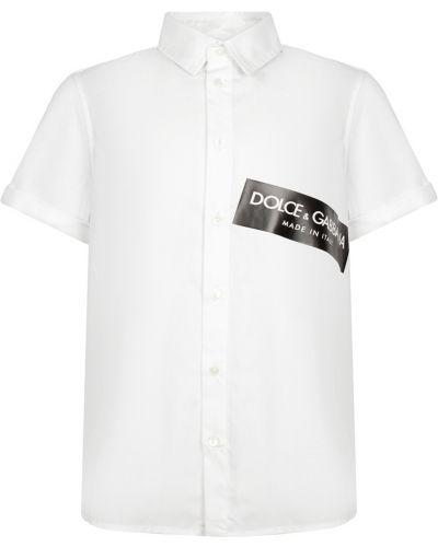 Рубашка черная Dolce&gabbana Children