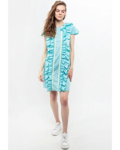 Голубое весеннее платье Dasti