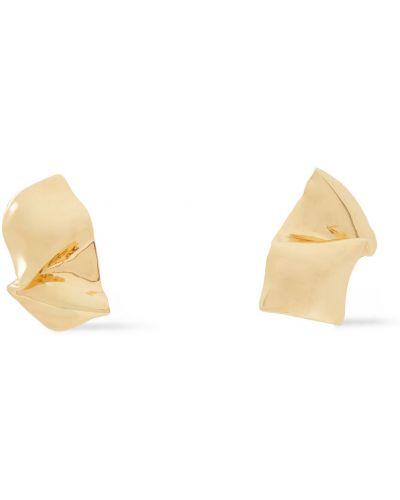 Złote kolczyki sztyfty Cornelia Webb