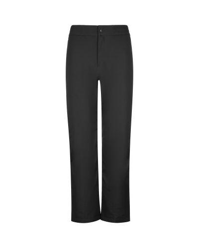 Прямые черные утепленные брюки Glissade