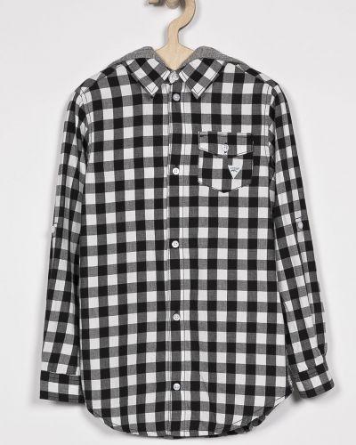 Рубашка хлопковая с карманами Guess Jeans