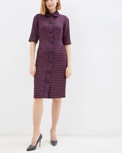 Платье рубашка - фиолетовое мадам т