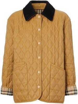 Стеганая куртка - коричневая Burberry