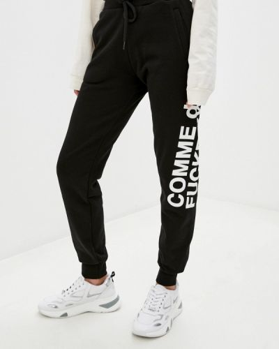 Черные спортивные брюки Comme Des Fuckdown