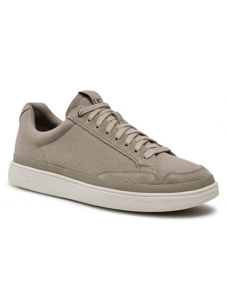 Buty sportowe skorzane - beżowe Ugg