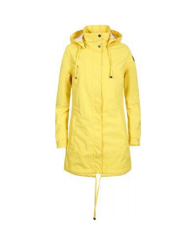Ветровка с капюшоном - желтая Luhta