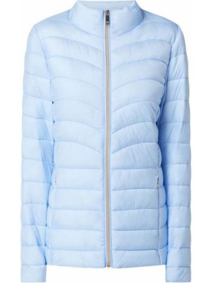 Niebieska kurtka pikowana Esprit Collection