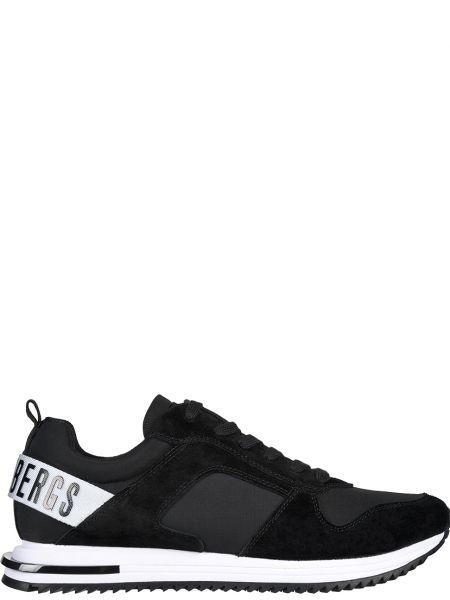 Текстильные кроссовки - черные Bikkembergs