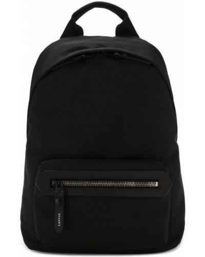 Черный рюкзак Lanvin