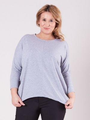 Bluzka asymetryczna - szara Fashionhunters