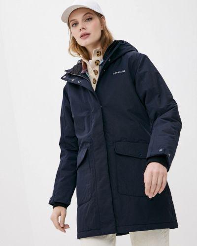 Утепленная синяя куртка Didriksons