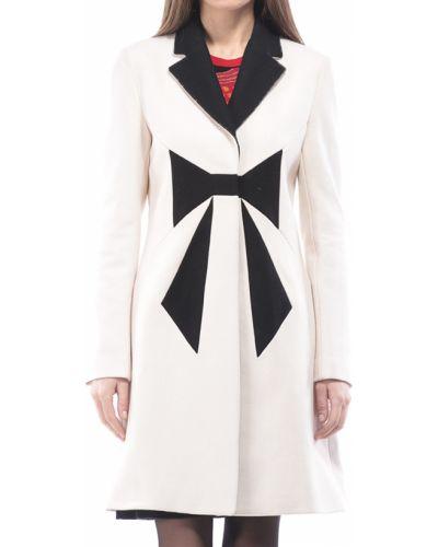 Шерстяное пальто с капюшоном Love Moschino
