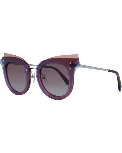 Fioletowe okulary Emilio Pucci