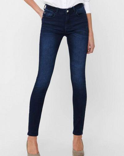 Синие джинсы-скинни узкого кроя Jacqueline De Yong