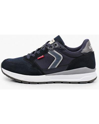 Синие кожаные кроссовки Levi's®