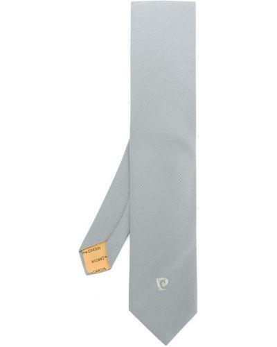 Серебряный галстук с вышивкой Pierre Cardin Pre-owned