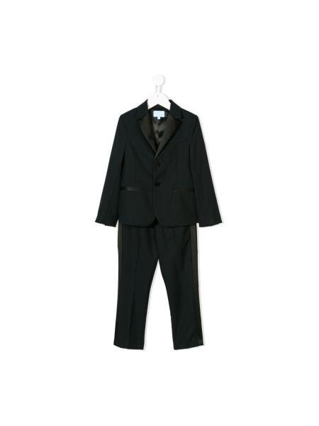 Czarny garnitur Lanvin