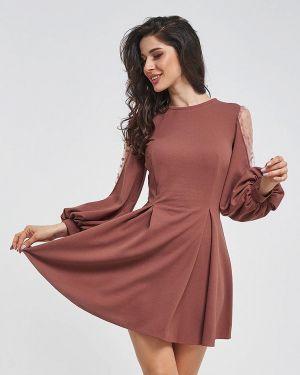 Коричневое вечернее платье Magnet