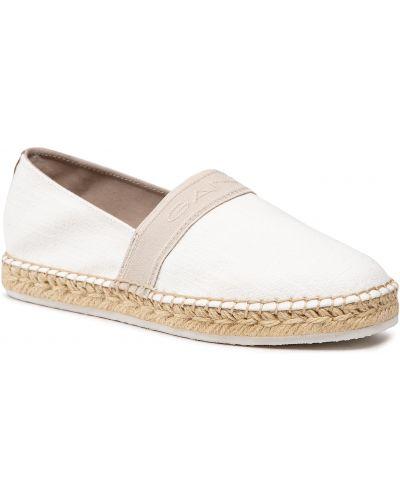 Półbuty casual - białe Gant