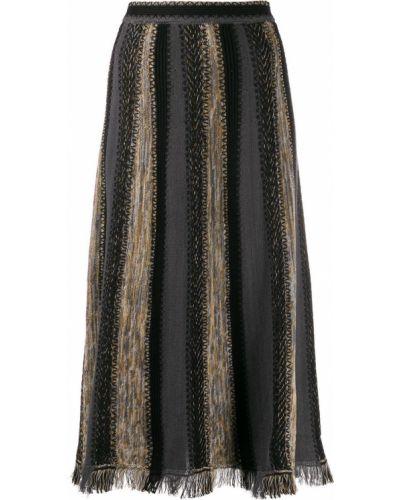 Юбка миди с завышенной талией пачка M Missoni