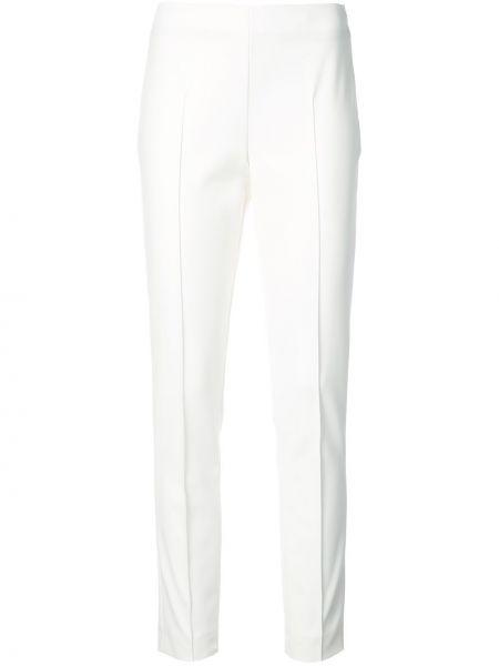 Białe spodnie bawełniane Akris