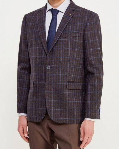 Коричневый пиджак Bazioni