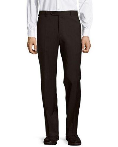 Прямые бежевые брюки с карманами Zanella