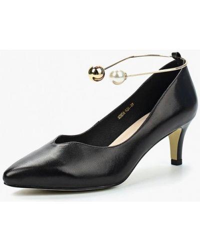 Черные туфли-лодочки Berkonty
