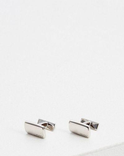 Запонки - серебряные Hugo