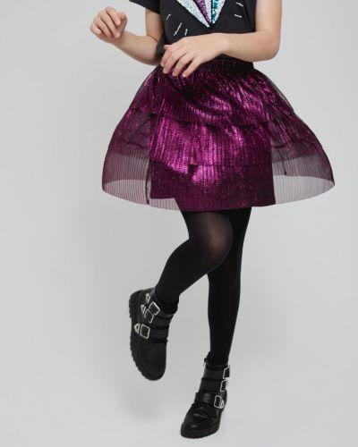 Трикотажная юбка мини с поясом Sela