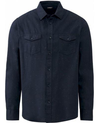 Рубашка с длинным рукавом - синяя Livergy