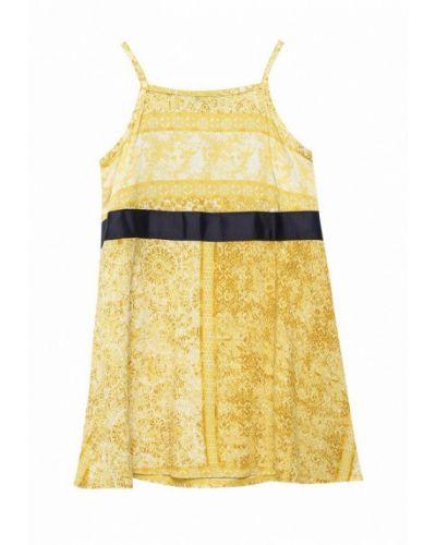 Желтый сарафан United Colors Of Benetton