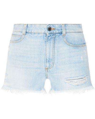 Короткие шорты с бахромой Stella Mccartney