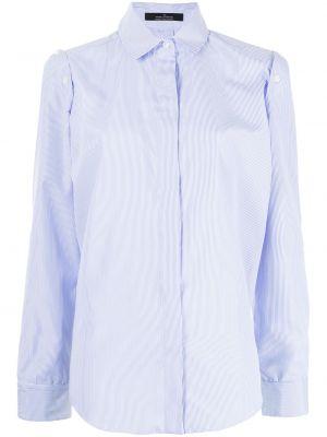 Biała koszula z długimi rękawami Rokh