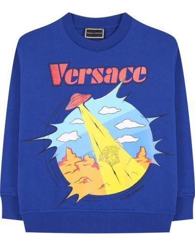 Свитшот с принтом Young Versace