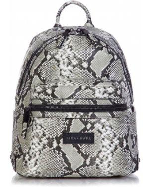 Рюкзак серый с логотипом Tiba + Marl