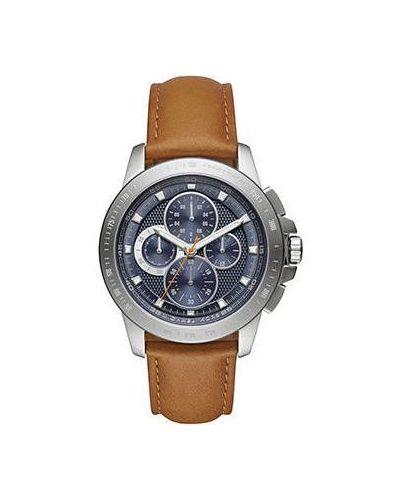 Часы с кожаным ремешком кварцевые коричневый Michael Kors