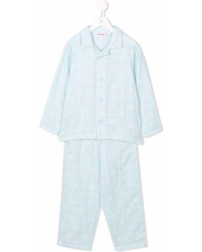 Пижама на пуговицах Miki House