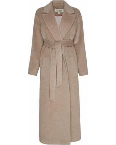 Шерстяное пальто - бежевое A La Russe