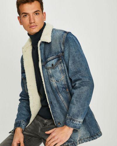 Джинсовая куртка утепленная с логотипом Levi's®