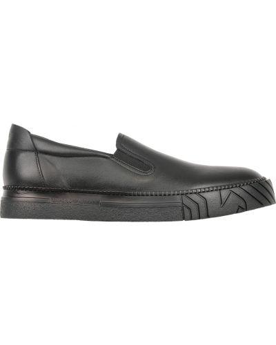 Черные слипоны Emporio Armani
