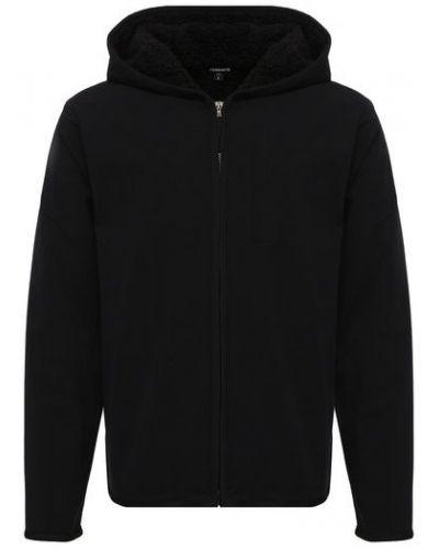 Флисовая куртка - черная James Perse