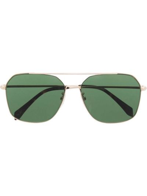 Zielone złote okulary Zadig&voltaire