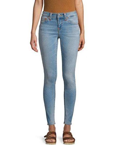 Повседневные зауженные джинсы-скинни стрейч True Religion