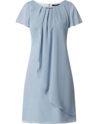 Sukienka koktajlowa - niebieska Swing