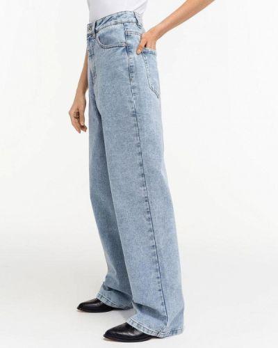 Широкие джинсы - голубые Befree