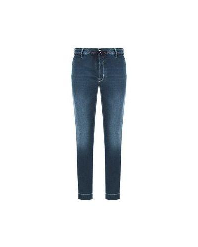 Синие прямые джинсы Jacob Cohen