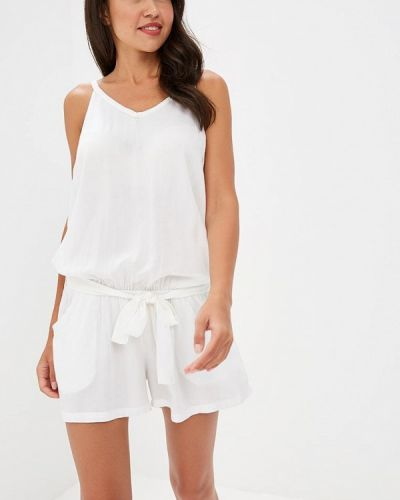 Комбинезон с шортами белый индийский Bruebeck