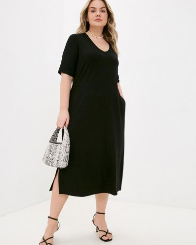 Черное платье Ulla Popken